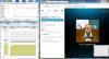 Skype 6.3 при видео разговор