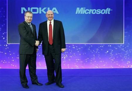 Partnership between Nokia and Microsoft