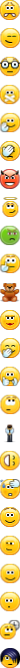 Standard emoticons in Skype 5.5 and above - 2