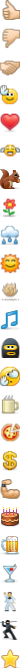 Standard emoticons in Skype 5.5 and above - 3