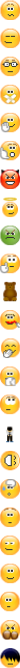 Old standard Skype emoticons - 2