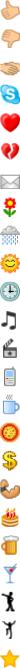 Нормални стари Skype емотикони - 3