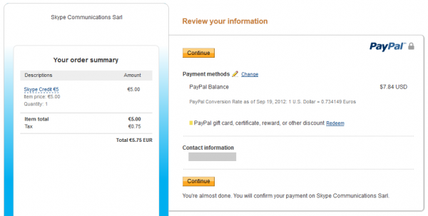 PayPal плащане