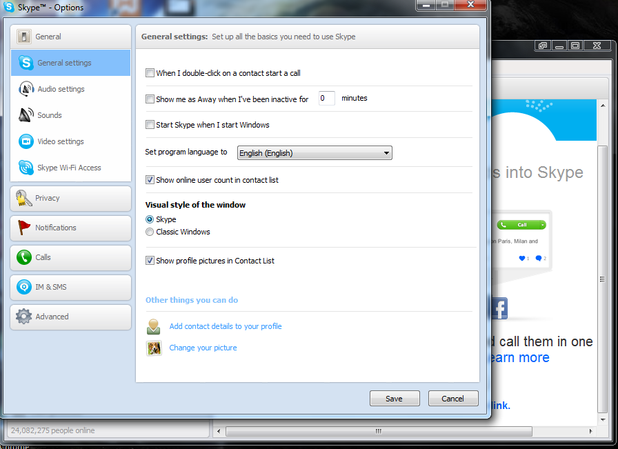 Download skype 5. 5 beta with facebook chat integration.